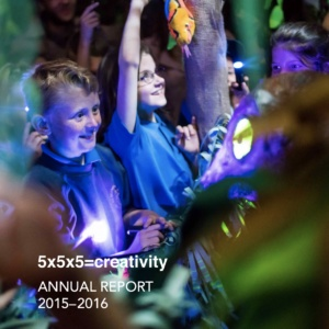 5x5x5=creativity Annual Report 15-16